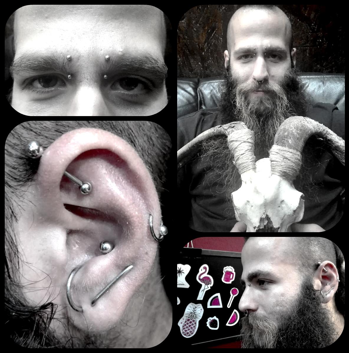 amonface piercing